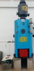 Vertical Cross Tube Type Boiler