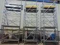 Aluminium Single Width Mobile Tower Scaffold