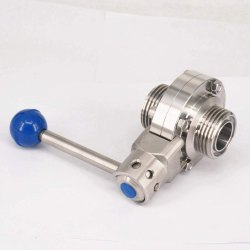 SS 304 Butterfly Valves With Union