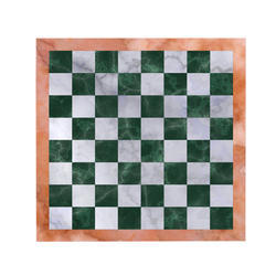 Green Chess Board