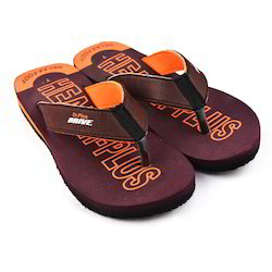 Boys PU and Rubber Slippers, Size: 7