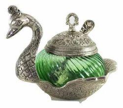 China Duck Oxidised Metal Handicrafts