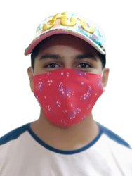 可重复使用的面罩,层数:2