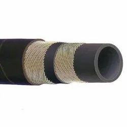 Black DUNLOP Steam Hose Pipe, Size: 1 inch, Length: 1m-6m