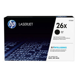 HP 26X Black Original LaserJet Toner Cartridge