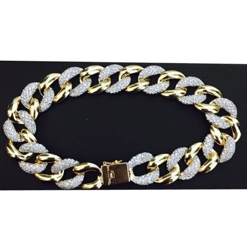 Real Diamonds Men Diamond Bracelet