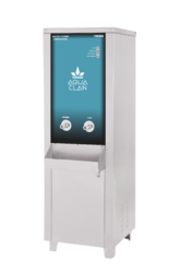 Commercial UV Ozone RO Water Purifier with Cooler