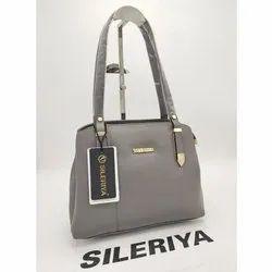 Sileriya Grey Ladies Designer Handbag