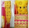 Yellow Printed Ladies Kuriti