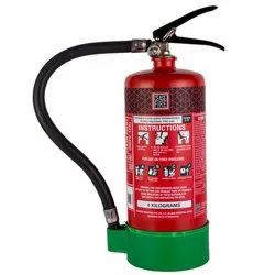 Red Carbon Steel Ceasefire Portable Clean Agent Fire Extinguisher, Capacity: 4Kg