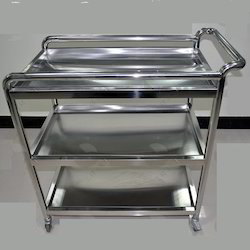 Furnace Stainless Steel Trolley