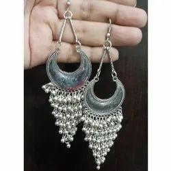 German Silver Oxidised High Quality Earrings