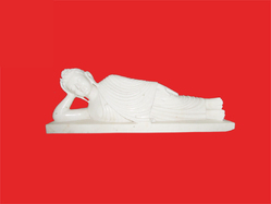 Relaxing Buddha 2.5 Fts Statue