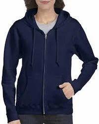 Men's Cotton Full Sleeves Plain hooded