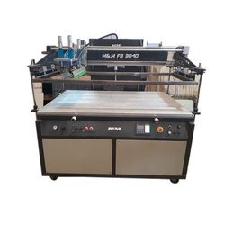 M & M Stainless Steel FB 3040 Flat Bed Screen Printing Machine, Automation Grade: Automatic