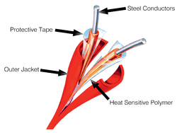 Digital Linear Heat Sensing Cables (LHS Cable)