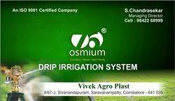 Osmium Drip Irrigation System