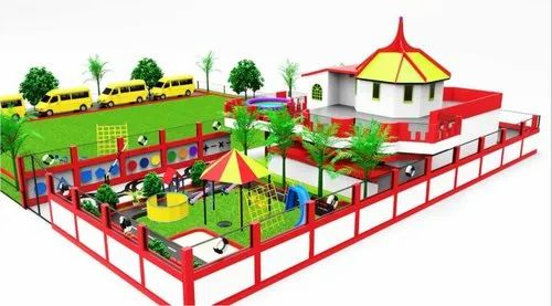 School Architect And Interior Design Service