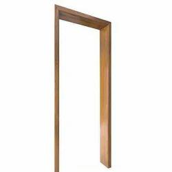 Plain Brown Teak Wood Frame