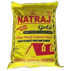 Natraj Gold Water Proof Cement Paint, Packaging: 20 kg