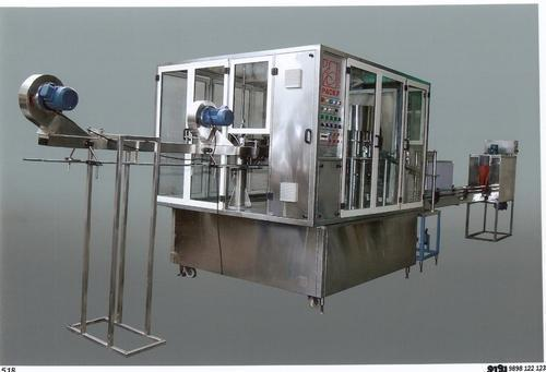 Mineral Water Filling  Capping Machine 4x 4 x 8 Feet