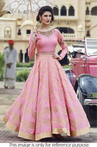 fd08f32072770 Crop Top Lehenga Choli - View Specifications   Details of Lehenga ...