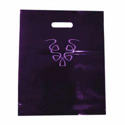 Dark Purple LD Printed Bag, for Shopping