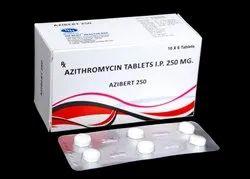 Azibert-250 Azithromycin 250mg Tablets, 60 Tablets