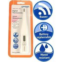 Omron Digital Thermometer Mc-246