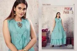 Posh Vol-3 Festival For Designer Anarkali Kurtis