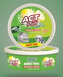 Act Plus Lemon Dishwasher Round Bar