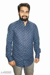 Mens Doted Print Shirt