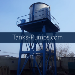 Zincalume Steel Fire Water Tanks Manufacturers, Storage Capacity: 3000 L onwards, Size: 3000 To 30 Lac Liters