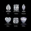 Radiant Cut DEF Moissanite Diamond