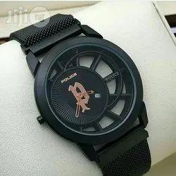 Polish Watch Black Magnet Watch