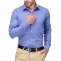36-50 Plain Mens Formal Shirt