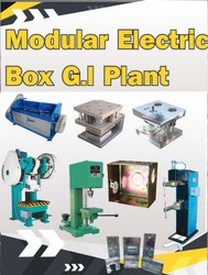 Modular Electric Box G.I Plant