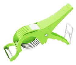 2 in 1 Plastic Vegetable Cutter