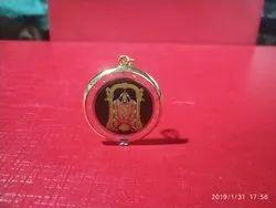 Define jewellery Yellow Designer Gold Pendant