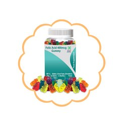I M Healthcare Folic Acid 400 mcg Gummy