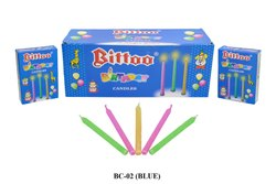 BC-02 Bittoo Birthday Candle BLUE BOX