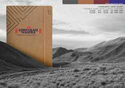 Corporate Executive Diary 2018 - Corduroy