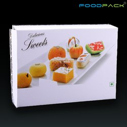食品包纸250甘甜包装盒,尺寸:5 x 4 x 1.5英寸