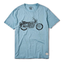 Royal Enfiled Bullet Crosshatch T-Shirt