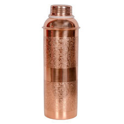 Embossed Copper Bottle