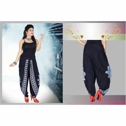 Ladies Cotton Printed Patiala Salwar d38831627
