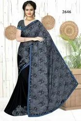 Indian Frill Saree