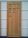 Standard Natural Wooden Wooden Doors Jd 9
