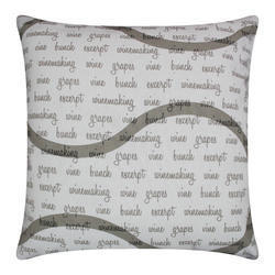 Letter Printed Cushion Cover