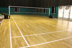 Indoor Badminton Court Flooring Service